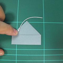 วิธีพับกล่องของขวัญแบบโมดูล่า (Modular Origami Decorative Box) โดย Tomoko Fuse 021