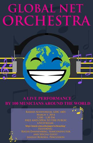 GlobalNet Orchestra Poster