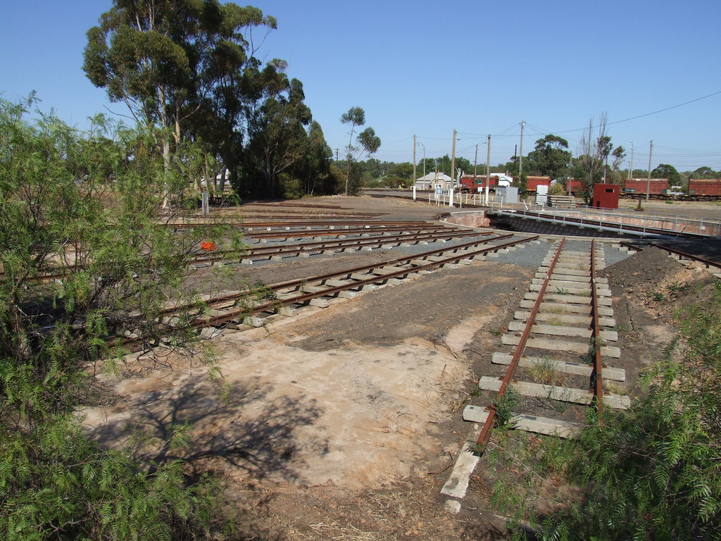 Dimboola Turntable March 201 by stuart Cray