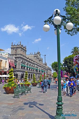 Zócalo y Palacio