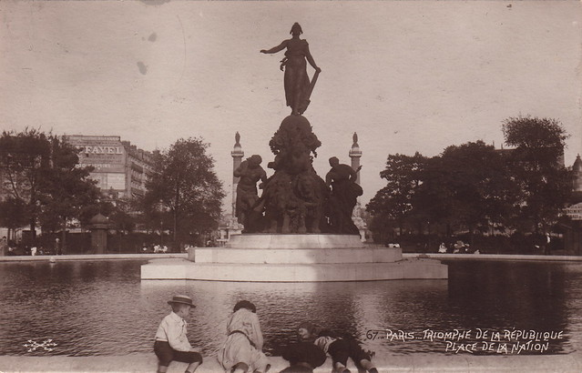67. Paris. Triomphe de la République, Place de la Nation (c.1910)
