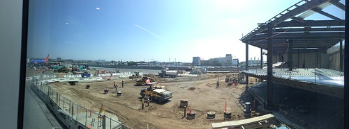 PANORAMIC: Construction outside Terminal 1 at LAX | by @jozjozjoz