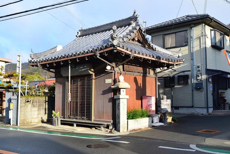 東坂参道入り口