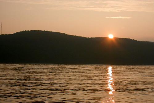 sunset landscape fjord paysage coucherdesoleil