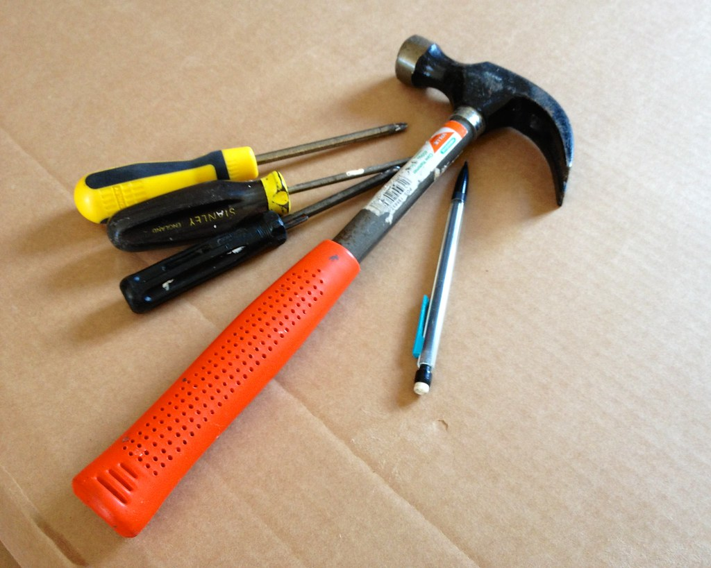 Tools for furniture assembly | Another Saturday means more f… | Flickr
