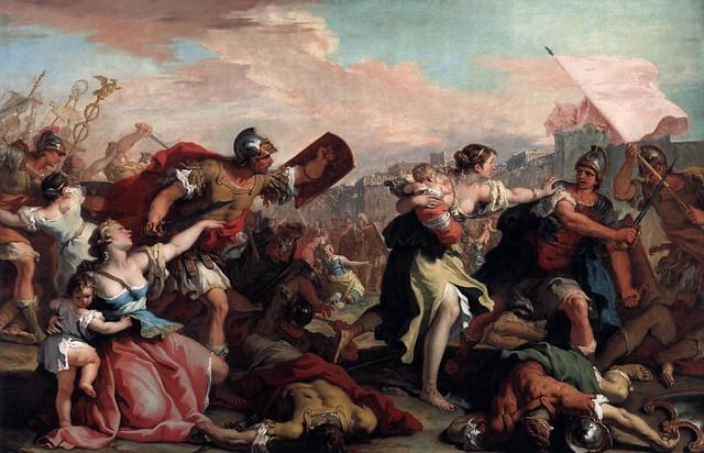 +1700 Las sabinas se interponen entre romanos y sabinos