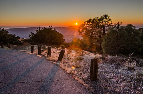 sunset at mount diablo | by micurs