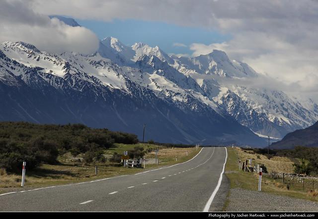 Mount Cook Road, New Zealand