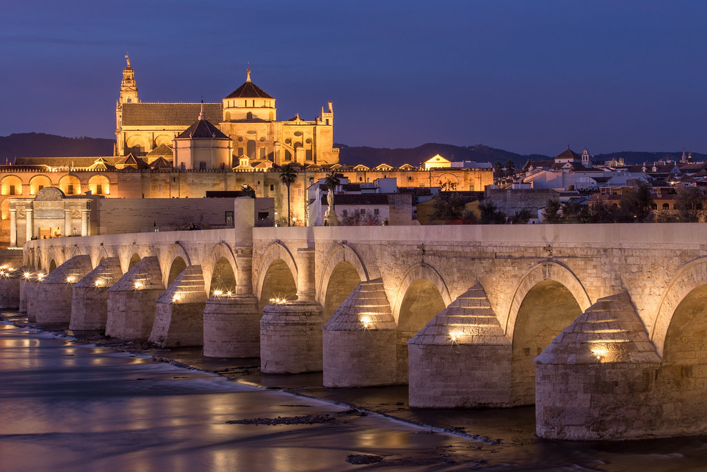 Cordoba Bridge at Night | Cordoba, Spain | Brad Hammonds | Flickr