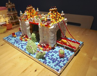 12-21-13 Tower Bridge attacked by Sea Monster Gingerbread