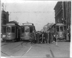 Streetcars at 15th Street and New York Avenue NW