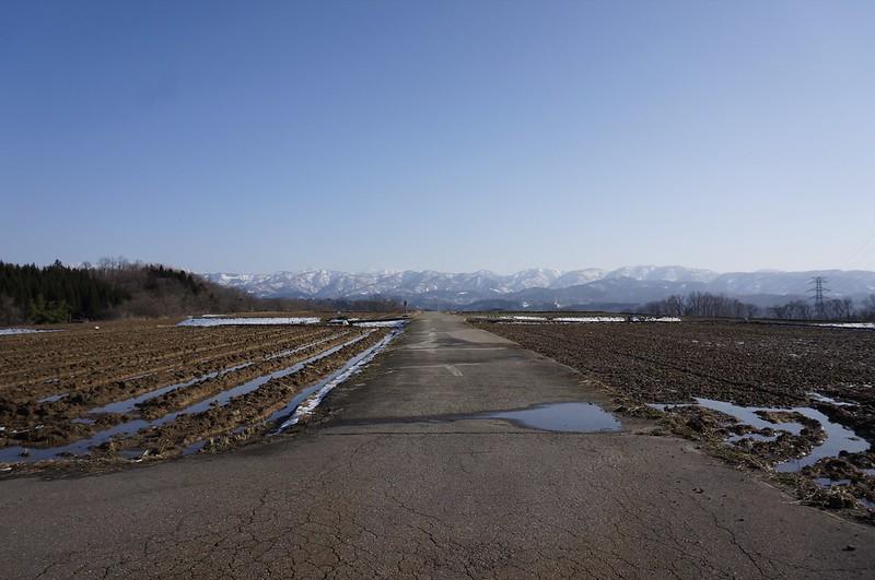 白山撮影スポットを訪ねて 金沢市俵町付近