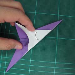 วิธีพับกระดาษเป็นรูปนกอินทรี (Origami Eagle) 016