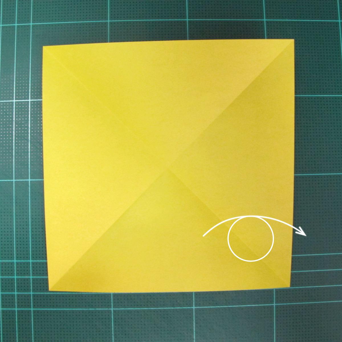 วิธีพับกระดาษเป็นรูปนกยูง (Origami Peacock - ピーコックの折り紙) 002