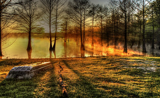 Foggy morning sunrise on Finch Lake | by finchlake2000