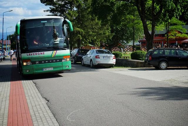 Autobus, zielony / Our green bus