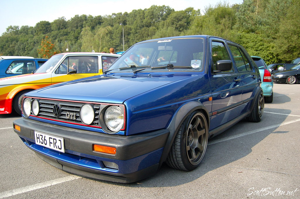 Mk2 Golf GTI @ so wal mega meet