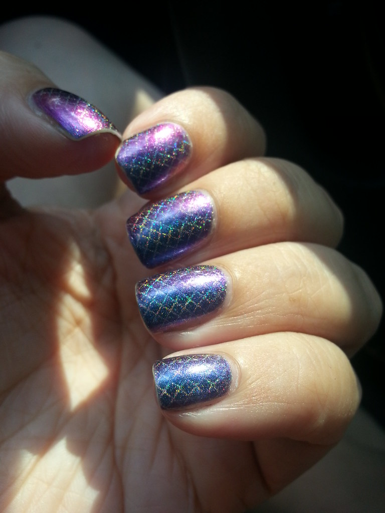 enchanted polish - across the universe stamped with color …   Flickr