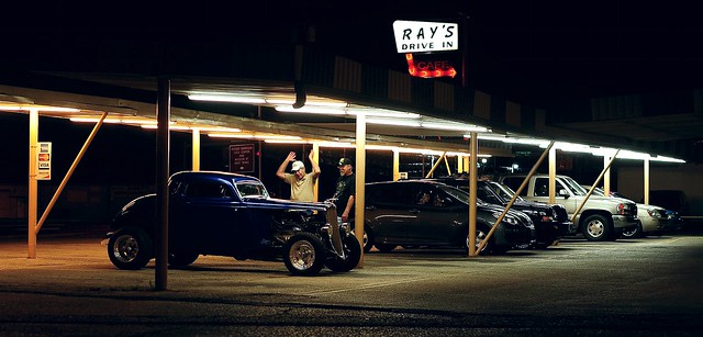 Hot Rod Envy at Ray's Drive In