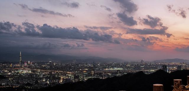 Taipei City, the capital of Taiwan