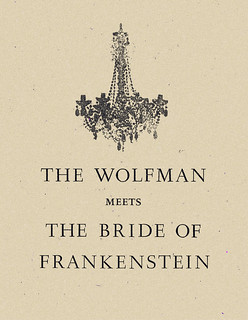 THE WOLFMAN MEETS THE BRIDE of FRANKENSTEIN | by The Famous Hairdos of Popular Music
