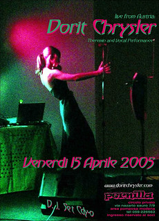 Dorit Chrysler Live in Italy - 2005