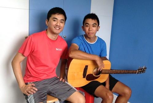 Private guitar lessons Singapore Randolph