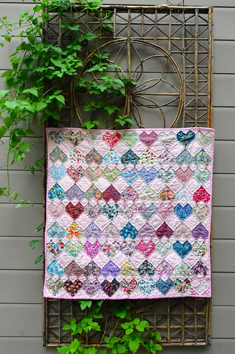 Head Over Heels in Love quilt | by Sewfrench