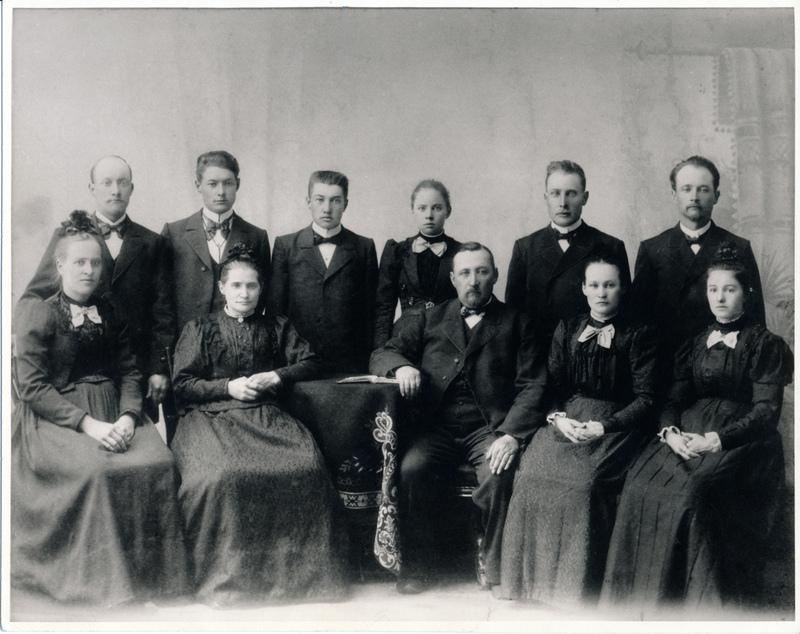 Johannes Jakob Reimer and family