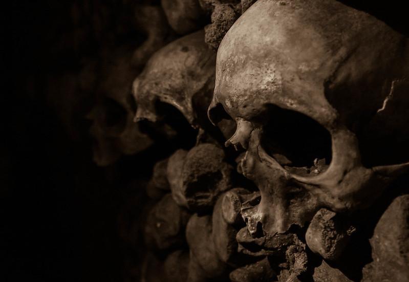 Skulls @ Catacombs - Paris