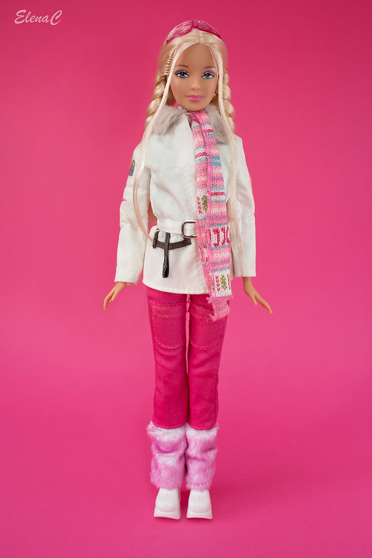 Barbie loves Benetton - St. Moritz