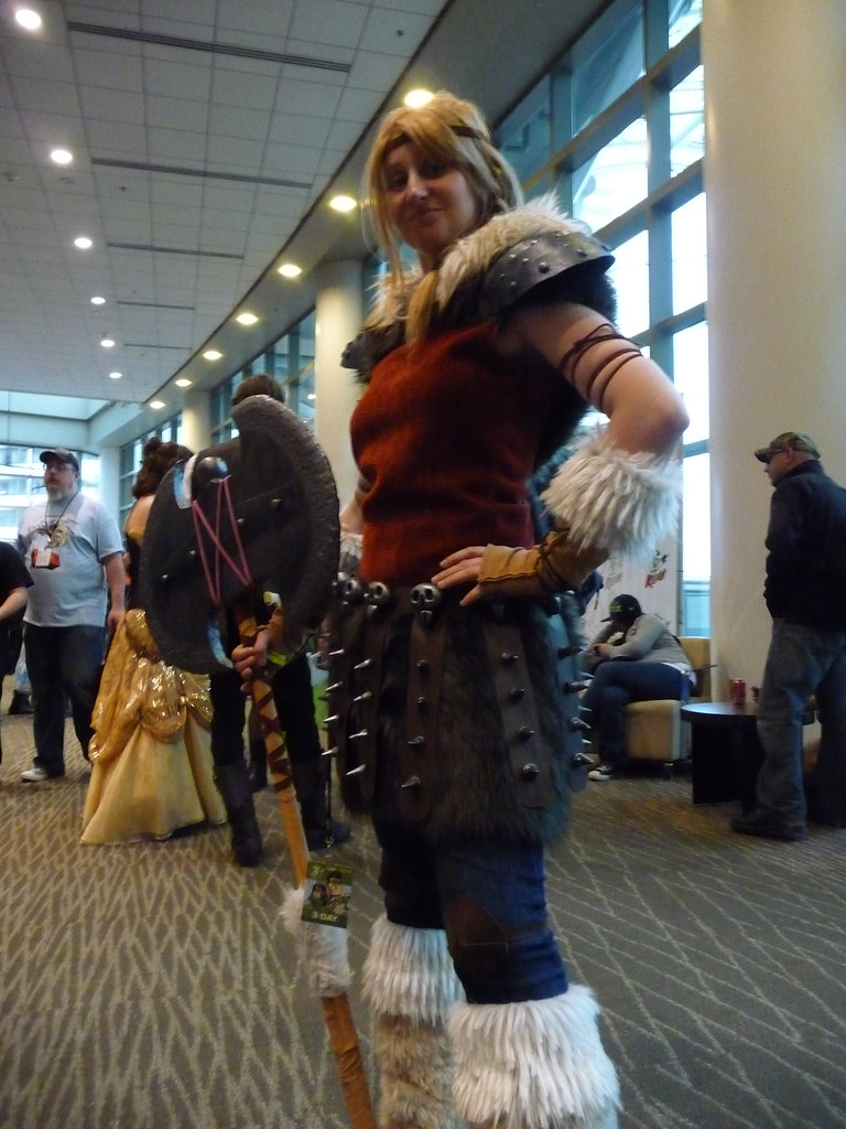 Eccc 2014 How To Train Your Dragon 2 Astrid Hofferson Flickr