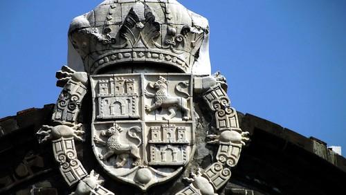 Escudo real corona española