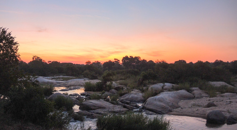 Sabi River at Sunset