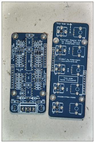 VCXFaderVCA   by fonitronik