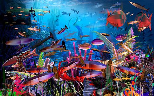 Feedin Time inna Fractal Fish Tank