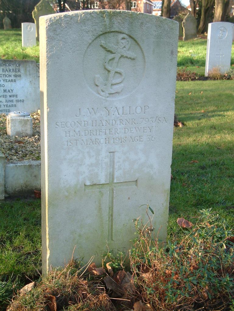 Second Hand J W Yallop Drifter Dewey 1918