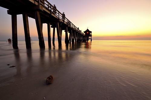 light sunset red usa sun beach nikon tramonto florida ngc sigma clear 1020 rosso uniti pontile stati nikonflickraward lickraward5 nikonclubit d3100 fabiotode me2youphotographylevel1