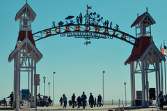 Ocean City Maryland Boardwalk arch