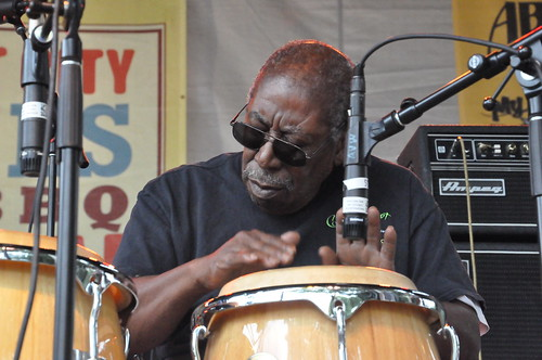 Alfred Uganda Roberts at Crescent City Blues & BBQ Fest 2013.  Photo by Kichea S Burt.
