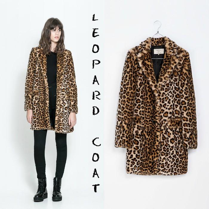 abrigo leopardo zara | Antía | Flickr