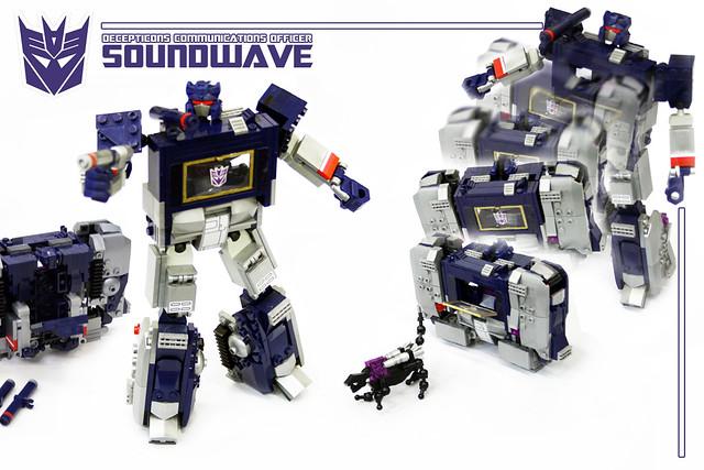 KRE-O Transformers G1 Soundwave