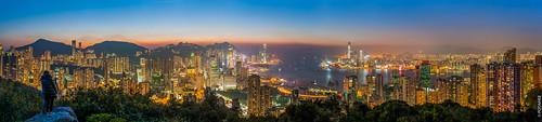 sunset panorama night hongkong 日落 寶馬山 braemarhill flickrhongkong flickrhkma