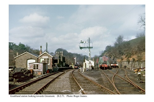 Goathland station. 28.2.71 | by Roger Joanes