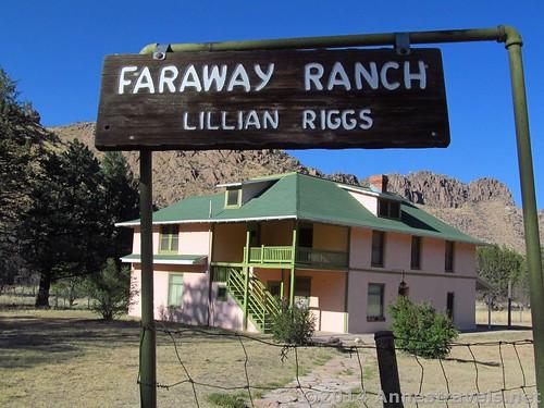 Faraway Ranch in Chiricahua National Monument, Arizona