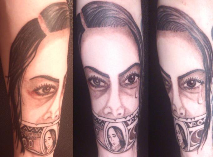 Portret Tattoo Myke Myke Flickr
