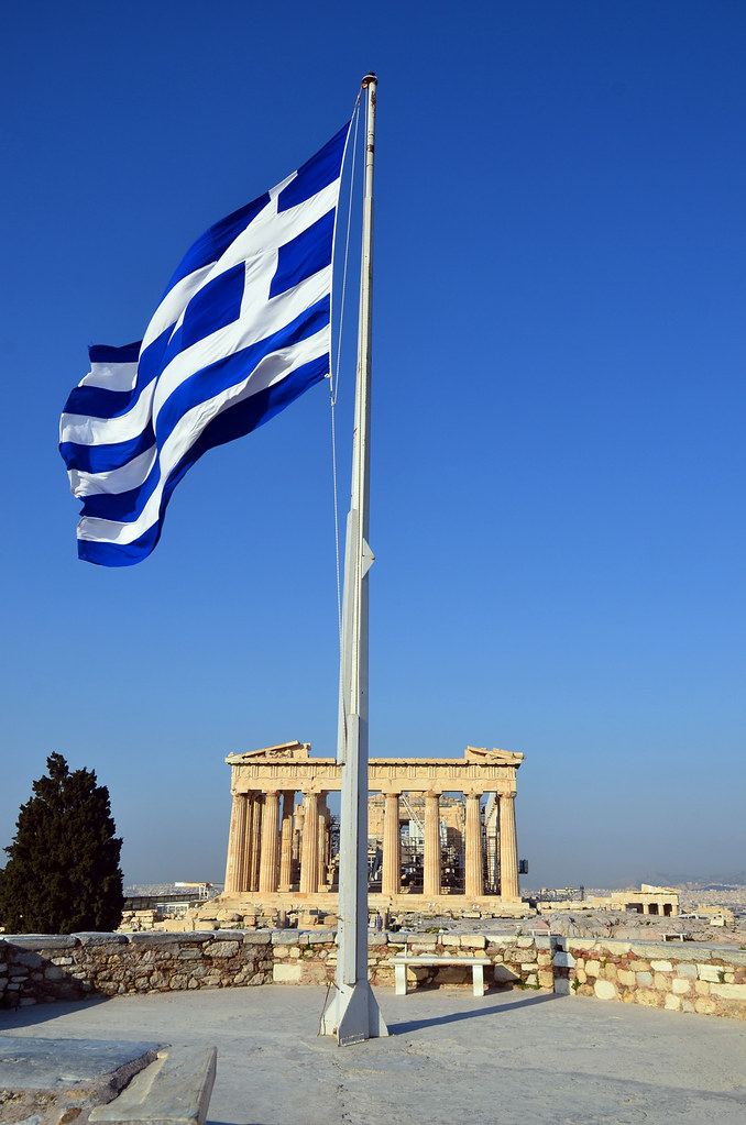 Terms Of Use >> Greek Flag / Parthenon | Flag of modern Greece with the ...
