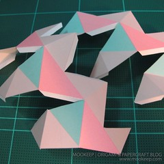 สอนทำโมเดลกระดาษเป้นรูปแจกันโบราณ (Papercraft Model Flower Vase) 022