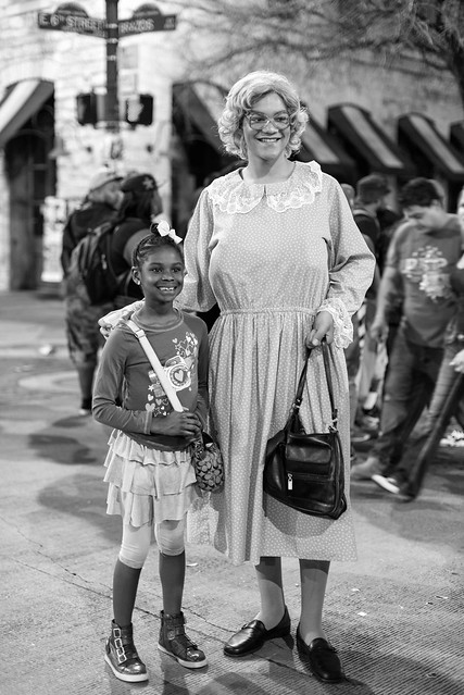Madea and a Young Fan