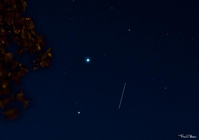 Venus, Júpiter y la ISS